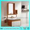 Klassische Badezimmercabinetry-Eitelkeit mit Spiegel