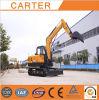 Excavatrice hydraulique multifonctionnelle de pelle rétro de CT70-8A (6.5t)