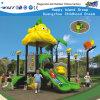 Equipamento plástico do jogo da corrediça das crianças pequenas ao ar livre do projeto (HD-FY01601)