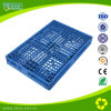 Bandeja plástica de plástico com plástico azul