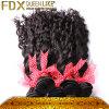 バージンWetおよびWavyブラジルのHuman Hair (FDX-BW-TJ)