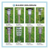 LED Solar Wall /Garden Lamp e Outdoor Solar Lawn Lamp