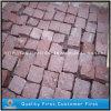 Putian inflamado Cubestones vermelho/tijolo Paverstone para o jardim/entrada de automóveis/pátio