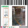Chariot de cage de treillis métallique en métal pour Losgistic et mémoire