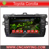 Reproductor de DVD del coche para el reproductor de DVD de Pure Android 4.4 Car con A9 CPU Capacitive Touch Screen GPS Bluetooth para Toyota Corolla 2007-2011 (AD-8013)