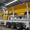 bewegliche Pflanze der Zerkleinerungsmaschine-40-60t/H für Verkauf für die Granit-Zerquetschung