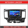 Bluetooth A9 CPU 1g RAM 8g Inland Capatitive Touch Screenを搭載するMitsubihi Lancerのための純粋なAndroid 4.4.4 Car GPS Player。 (AD-9845)