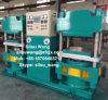 Two Station, Plate Vulcanizing Press를 가진 고무 Plate Vulcanizing Press