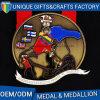 Medalha feita sob encomenda do esporte para a lembrança