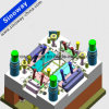 Générateur fait sur commande matériel en acier de moulage par injection de Shenzhen