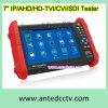 Testador de câmeras CCTV multifunções para teste HD-Tvi / Cvi / Ahd / Sdi / Analog Video Camera