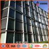 RoHS certificó el panel de pared de aluminio 4m m externo de plata (AF-411)