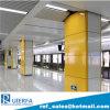 ガラス質のエナメルのパネルの工場中国の地下鉄の駅のためのエナメルを塗られた鋼鉄クラッディングパネル。 RefC 13