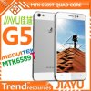 Téléphone mobile Mtk6589t Quad Core 1.5GHz 13.0MP 4.5inch IPS Gorilla Glass Screen 1280*720 Android 4.2 Smartphone de Jiayu G5