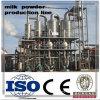 Milch-Puder-Produktionszweig beenden