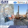 Aparejo de taladro hidráulico ahorro de energía del orificio de ráfaga de la roca Hfg-45