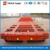 De intrekbare Semi Aanhangwagen van Lowbed van het Vervoer van het Graafwerktuig