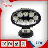 24 Watt LED retangular Lâmpada de Trabalho para veículos 4x4