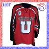 Хоккей Джерси сублимации Ozeason изготовленный на заказ для спортов хоккея на льду