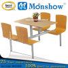 Tabla de cena de madera de cuatro asientos fijada para los muebles caseros de Moonshow