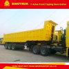 Cadre intense de cargaison de Sinotruk 60 tonnes semi de remorque