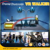 Il nuovo commercio proietta la pedana mobile di realtà virtuale