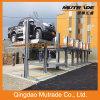 Elevación hidráulica del coche del estacionamiento del garage del poste del estacionamiento dos