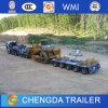 Draag Semi Aanhangwagen van Extenable Lowbed van de Breedte van de Apparatuur van Machines de Lange