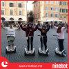 Ninebotの小型電気一人乗り二輪馬車のスクーター