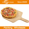 Подгоняйте корку пиццы логоса деревянную, деревянный поднос пиццы, доску сервировки пиццы