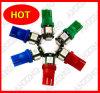Lumière de voiture de LED, T10 ampoule de la voiture LED, lumière automatique de LED, lampe automatique de LED, LED T10 5 SMD, T10 LED