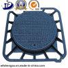 500*500*40mm duktiler Eisen-Einsteigeloch-Deckel für Foof Abfluss