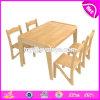 1 차 도매 고품질 및 유치원 오크 아이들 연구 결과 W08g228를 위한 나무로 되는 아이 의자