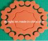 Almofada da isolação térmica do silicone, almofada mágica do calor do alimento, esteira resistente ao calor do silicone
