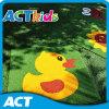 Carton Pattern Artificial Grass Door Mat para crianças