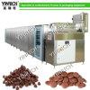 Depósito automático de gotas de chocolate e túnel de resfriamento