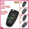 De verre Sleutel van de Tik voor Ford Focus 434MHz met 3 Knopen Am5t 15k601 VE