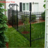 호주 Market (XMF3)를 위한 2000mm*2400mm Aluminum Ornamental Tubular Garrison Fencing