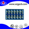 Разнослоистый PCB монтажной платы Fr4 высокий Tg голубой Soldermask