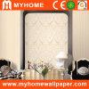Wallcovering realzado PVC al por mayor con el polvo del papel pintado