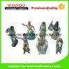 Estatuilla de cerámica del bailarín con el europeo
