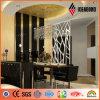 新しい屋内使用法のための方法によって切り分けられるアルミニウム合成のパネル