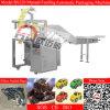 Tâmara de alimentação manual do mel máquina automática vertical do bloco
