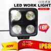 Lumière imperméable à l'eau 40W (garantie de travail d'IP69k DEL 2 ans)