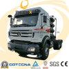 Camion de tracteur de Beiben 6X4 380HP CNG avec l'émission d'Eurov
