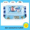 Manufatura molhada do OEM do tecido do bebê de Unsented da quantidade pequena (BW040)