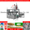 Fine Milk Powder를 위한 나사 Type Lifter Rotary Packing Machine