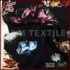 Tela de seda do cetim da cópia floral por atacado de China