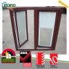 L'Australia Standard UPVC Woodgrain Windows Tilt e Turn Window