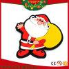 Ímãs de borracha macios Santa do refrigerador dos desenhos animados do Natal do PVC dos presentes da promoção (RC-CR011)
